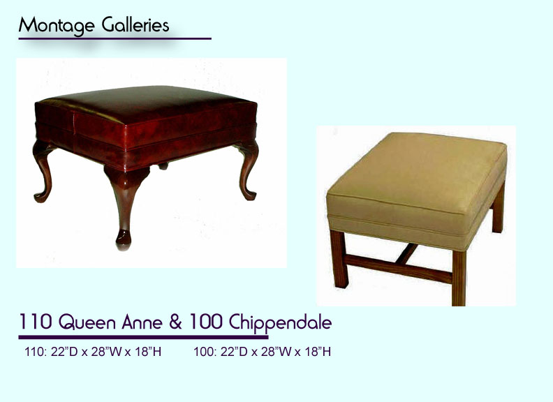 CSI_Montage_Galleries_110_Queen_Ann_Ottoman_100_Chippendale_Ottoman