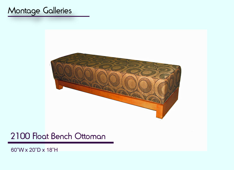 CSI_Montage_Galleries_2100_Float_Bench_Ottoman