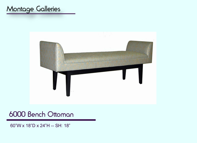 CSI_Montage_Galleries_6000_Bench_Ottoman